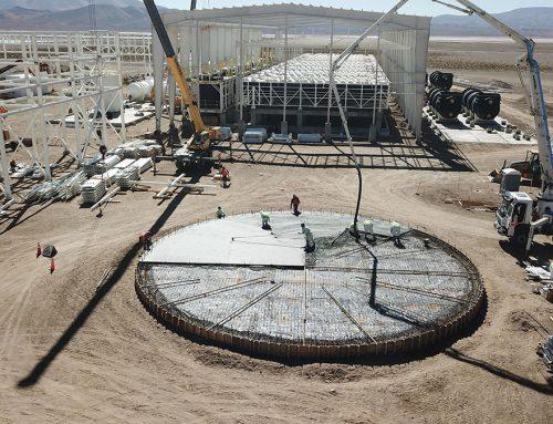 Construcción en marcha en camino a la primera producción en 2022.