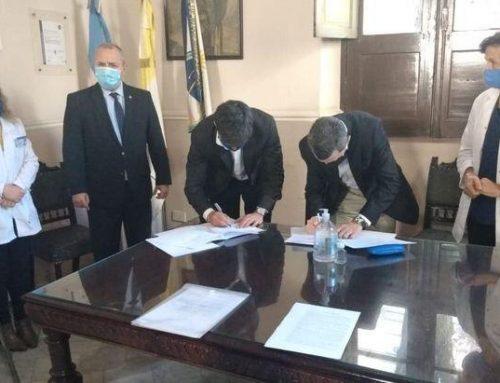 Minera Exar ratifica su compromiso en la lucha contra el Covid-19 Donación de un respirador artificial al Hospital «San Roque»